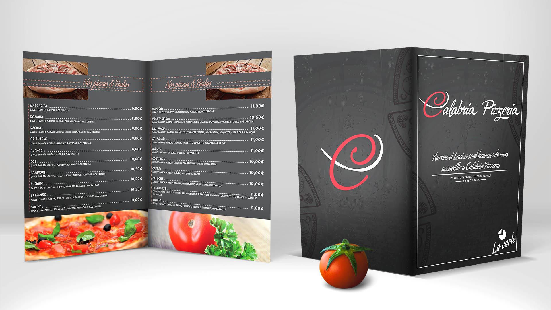 création carte de restaurant
